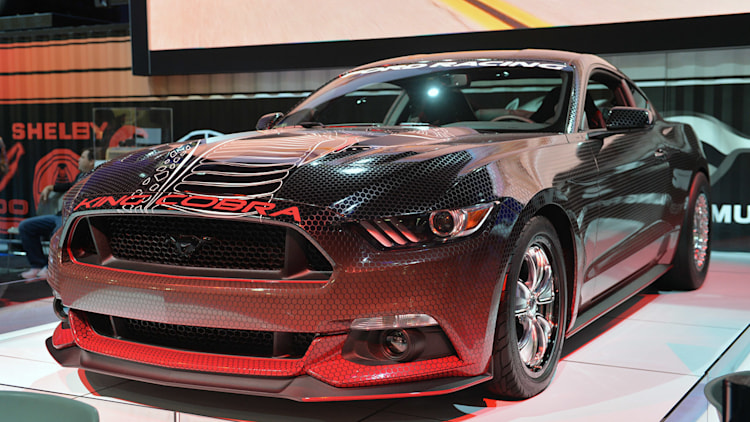 Ford Mustang King Cobra Concept: SEMA 2014 Photo Gallery - Autoblog