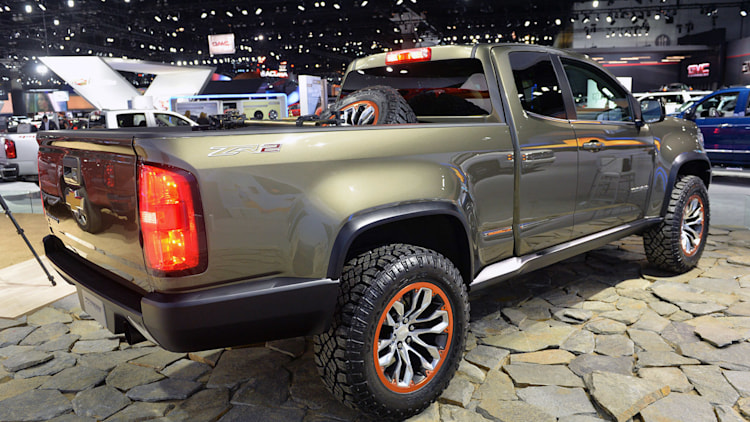 chevrolet colorado zr2 concept la 2014 photo gallery. Black Bedroom Furniture Sets. Home Design Ideas