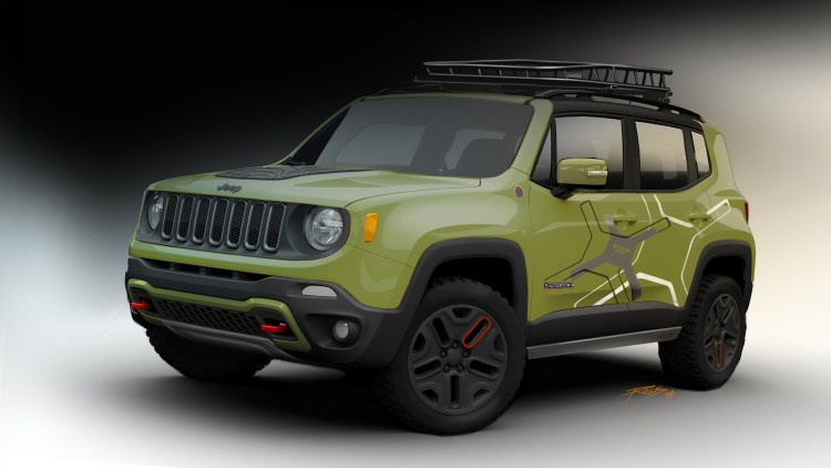 Jeep Renegade to show off new Mopar gear in Detroit