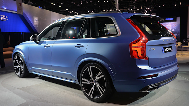 Volvo Certified Pre Owned >> Volvo XC90 R-Design is a sporty looking Swede in Detroit