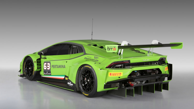 lamborghini huracan gt3 racer unveiled w video. Black Bedroom Furniture Sets. Home Design Ideas