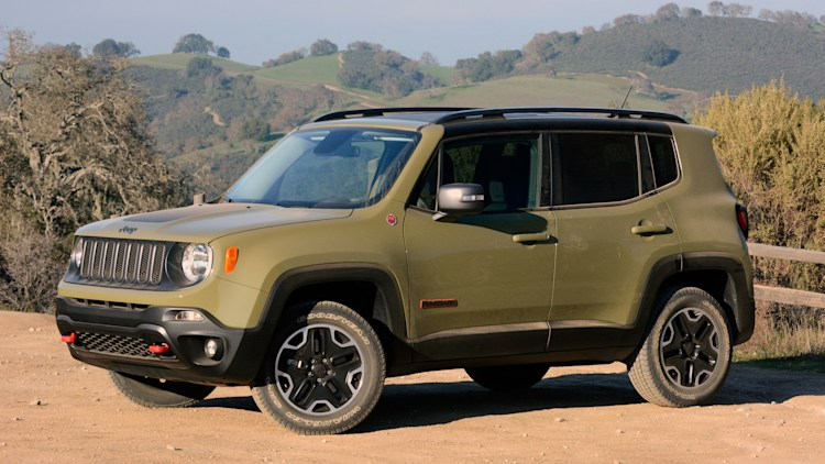 Lifted Renegade Trailhawk >> 2015 Jeep Renegade Trailhawk [w/video]