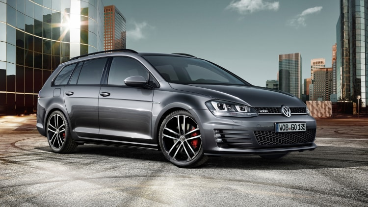 Vw Golf Gtd Wagon Makes Us Swoon Ahead Of Geneva Reveal