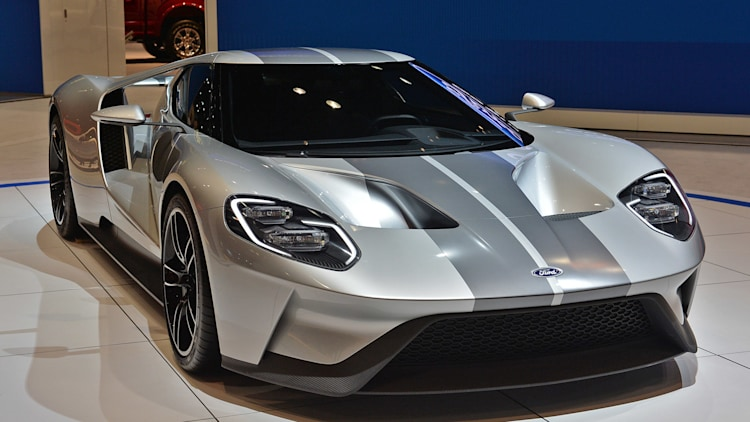 Ford Gt And Will Be Built In Ontario Canada