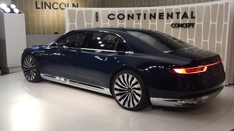 lincoln continental concept new york 2015 photo gallery autoblog. Black Bedroom Furniture Sets. Home Design Ideas
