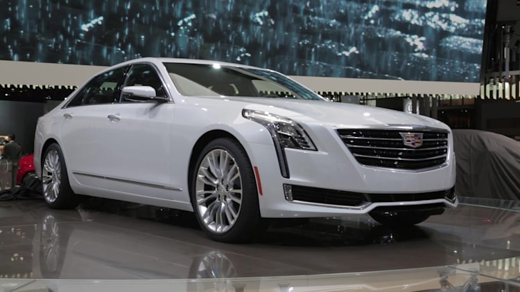 The 2016 Cadillac Ct6 Unveiled At The 2015 New York