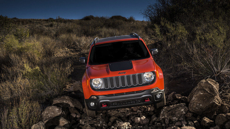 Jeep Renegade off road