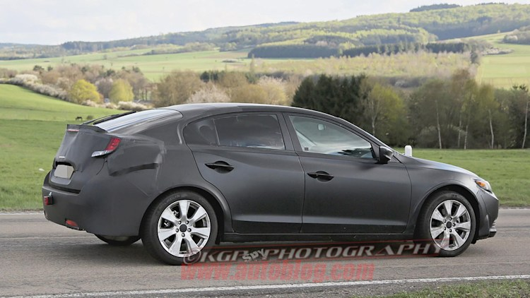 Honda Civic Door Spy Shots