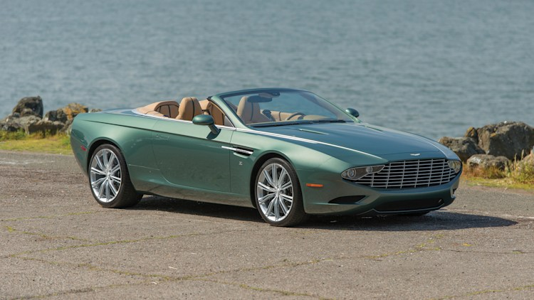 ASTON MARTIN DB9 Spyder Zagato Centennial up for grabs