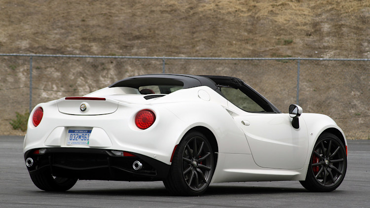 2015 alfa romeo 4c spider first drive w video. Black Bedroom Furniture Sets. Home Design Ideas