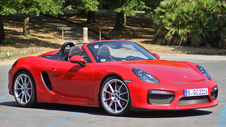 Excellent 2016 Porsche Boxster Spyder First Drive Photo Gallery