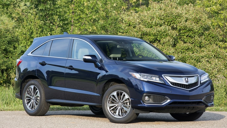 Lastest 2016 Acura RDX Front 34 View