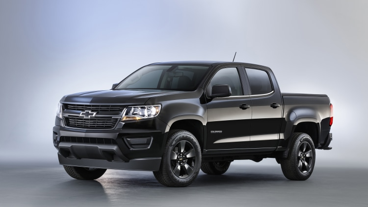 2016 chevrolet colorado midnight edition photo gallery. Black Bedroom Furniture Sets. Home Design Ideas