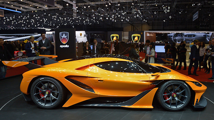 Apollo Arrow Geneva 2016 Photo Gallery Autoblog