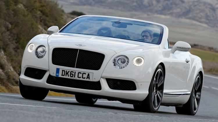 No. 3 Sexiest - Bentley Continental GTC