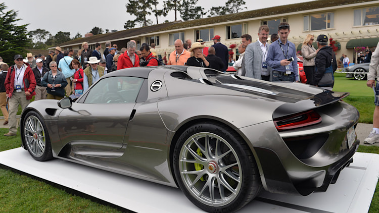 porsche 918 spyder monterey 2013 photo gallery autoblog. Black Bedroom Furniture Sets. Home Design Ideas