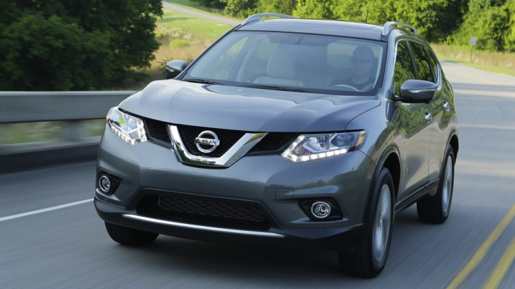 nissan rogue redesigned with three rows for 2014. Black Bedroom Furniture Sets. Home Design Ideas