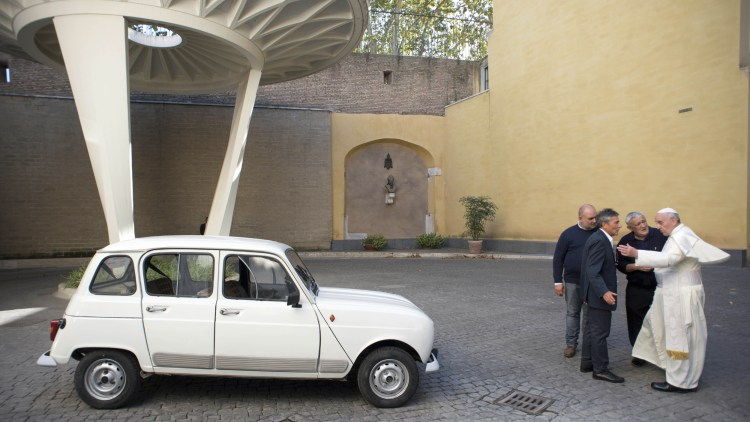 Vatican Pope New Car