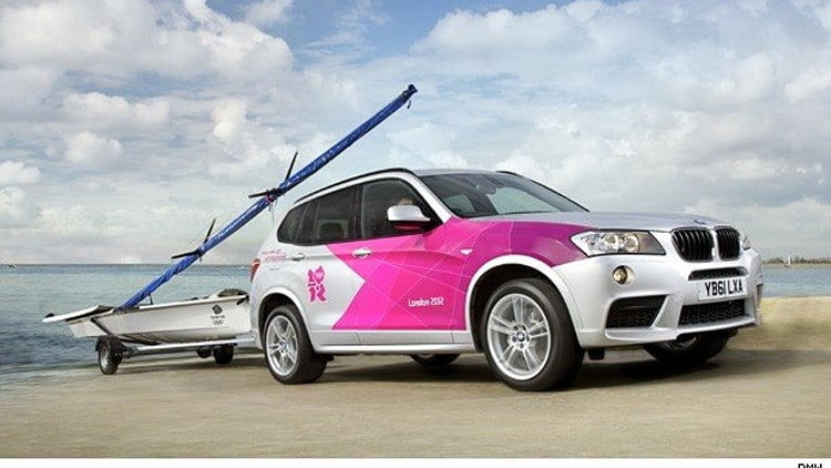 BMW Olympic Fleet