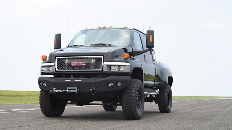 Best Car Buying Apps >> Ironhide Edition GMC TopKick 6500 Pickup by Monroe Truck Photo Gallery - Autoblog