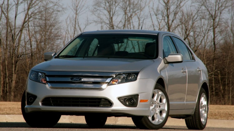 Ford Fusion Saloon Ford Recalling 126 000 Fusions
