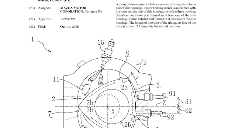 Mazda Rotary Engine Patent Drawings Photo Gallery Autoblog