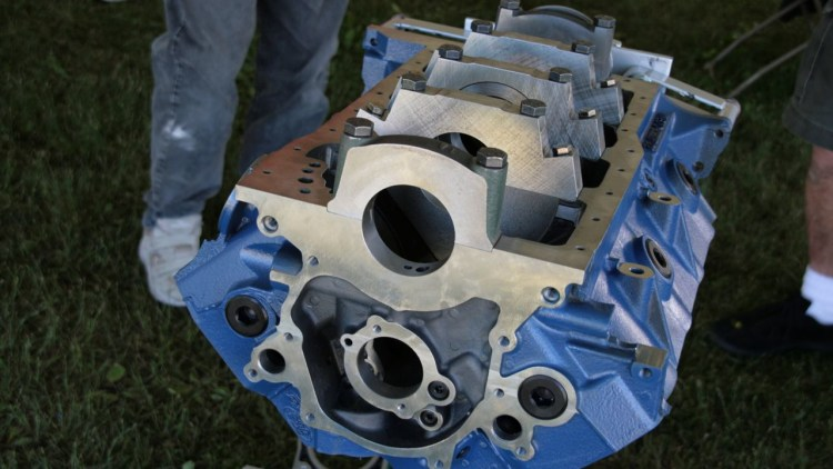 Ford Racing Introduces New Boss 351 Engine Block