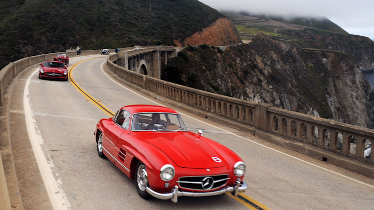 Mercedes-Benz 300SL driven by Sir Stirling Moss