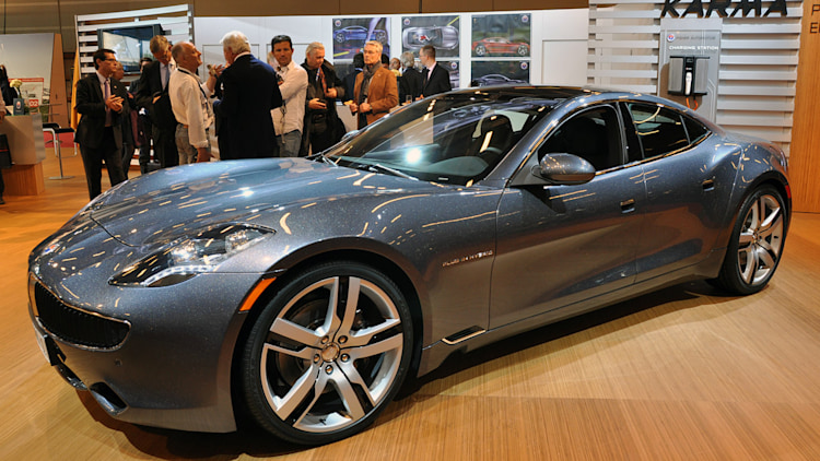 Paris 2010: First Factory-Built Fisker Karma