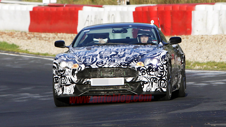 Aston Martin DBS spy shots