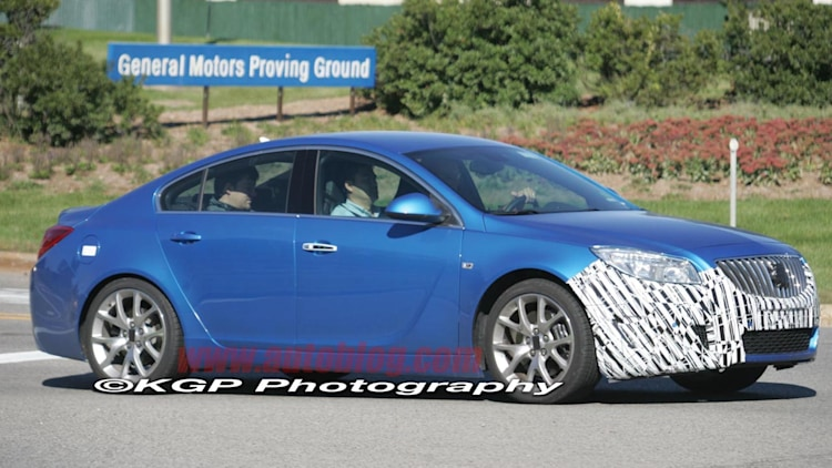 Buick Regal GS: Spy Shots