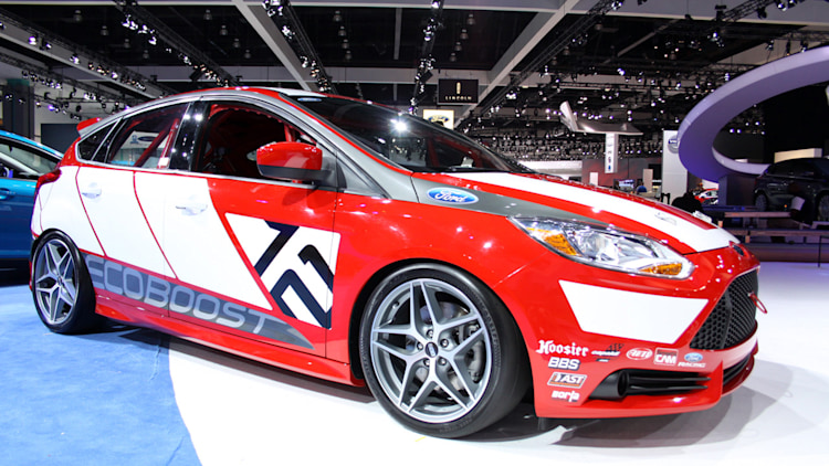 LA 2010: Ford Focus race car concept