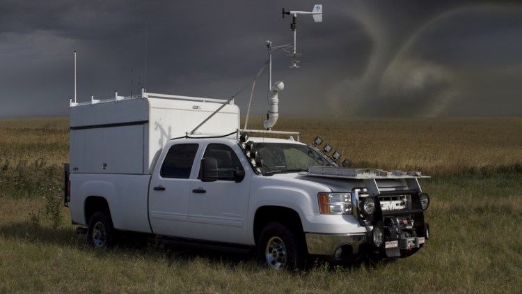 TWISTEX Probe Tornado Chase Vehicle