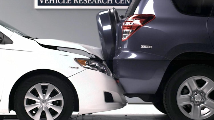 IIHS Small Car Bumper Damages