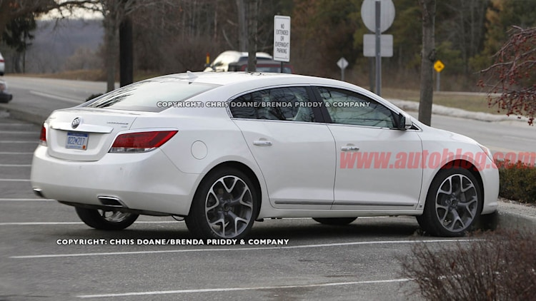 2012 Buick LaCrosse GS Spy Shots
