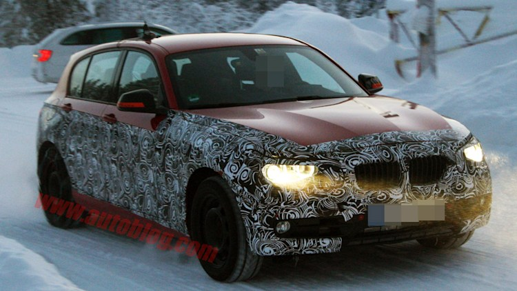 BMW 1 Series spy shots