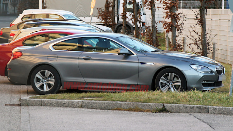 2012 BMW 6 Series Coupe spy shots