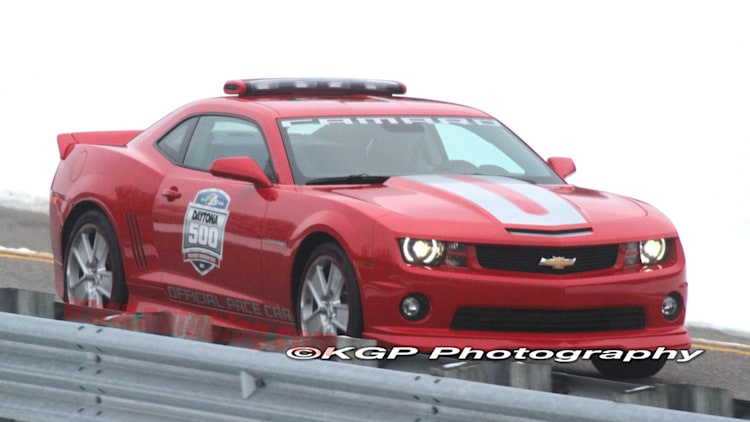 Chevrolet Camaro SS Indy 500 Pace Car spy shots