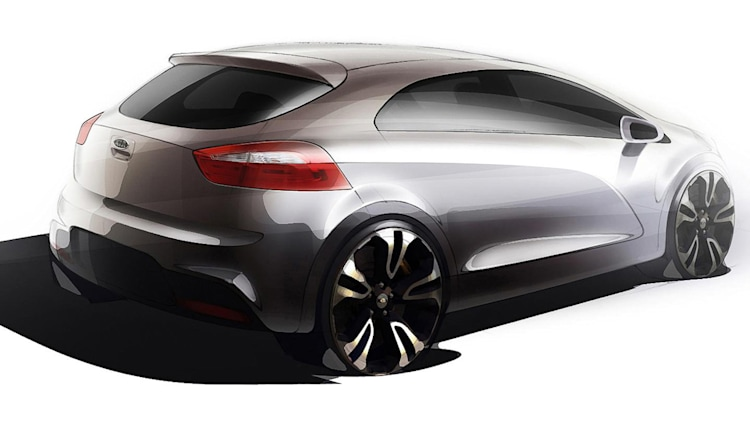 Next-Gen Kia Rio Renderings