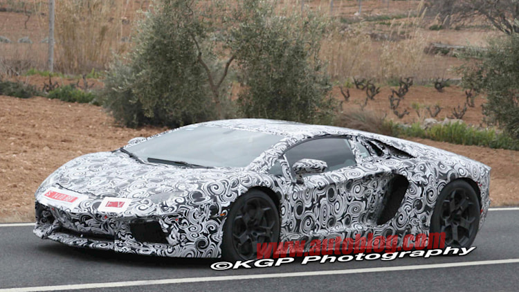 Spy Shots: Lamborghini Murcielago Replacement