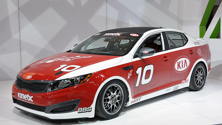 Kia Optima Turbo SX Kinetic Race Car