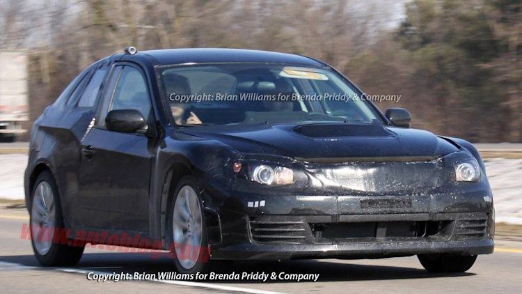 Spy Shots: Subaru FT-86