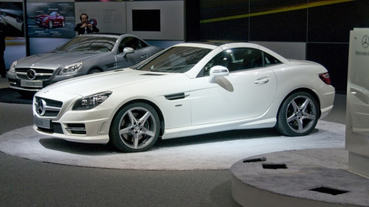 2012 Mercedes-Benz SLK Roadster - European Preview