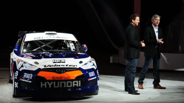 Hyundai Veloster Rally Car: Chicago 2011