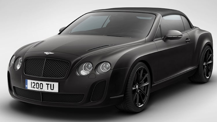 Bentley Ice Speed Record front Beluga
