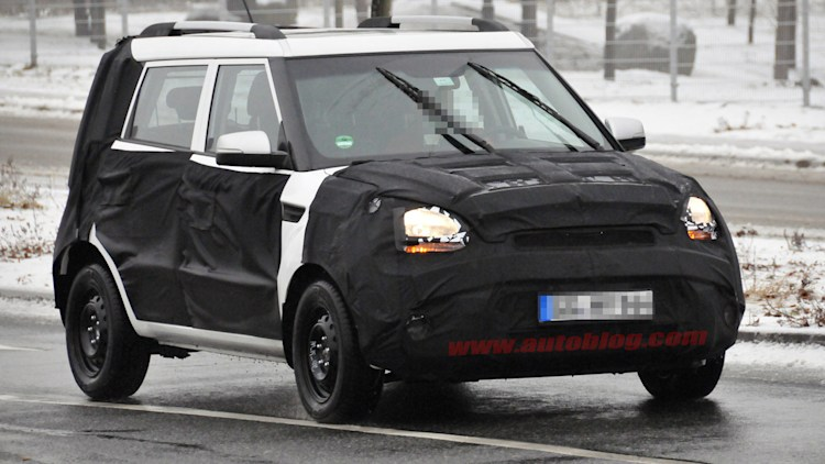 Spy Shots: Next-generation Kia Soul