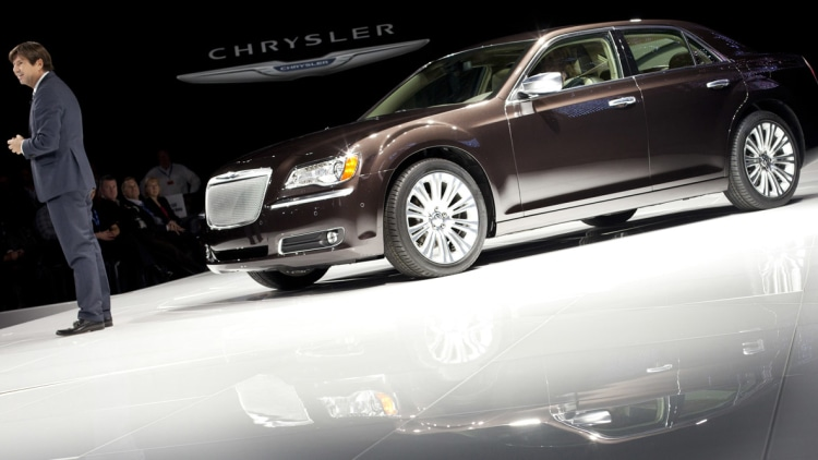 2012 Chrysler 300C Executive Series