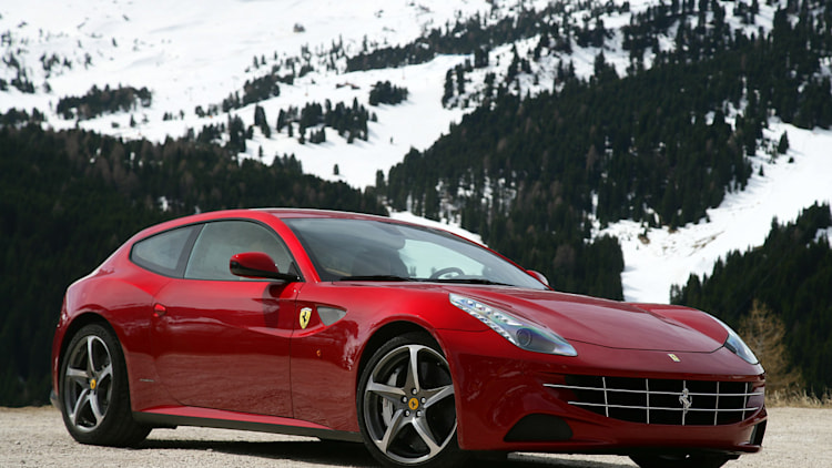 Ferrari Debuts New Snow