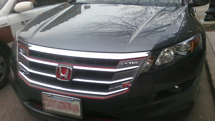 2011 Honda Accord Crosstour badge overkill