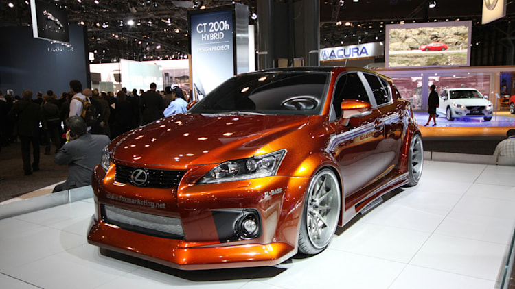 Fox Marketing Supercharged Lexus CT-200h front